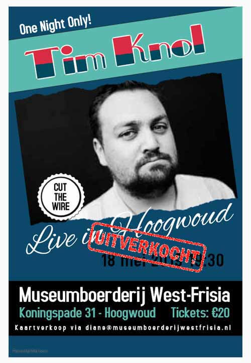 Tim Knol Live in Hoogwoud